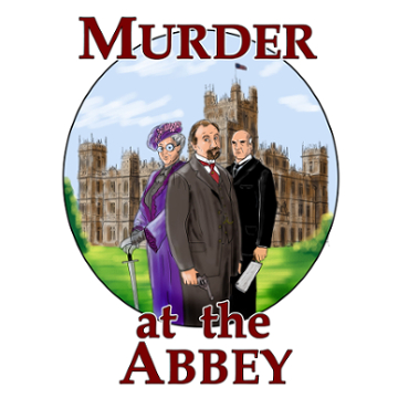"Artwork for Jest Murder Mystery Co. show ""Murder at the Abbey"""