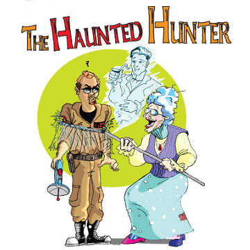 "Artwork for Jest Murder Mystery Co. show ""The Haunted Hunter"""